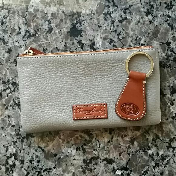 Dooney & Bourke Handbags - Dooney & Bourke Clutch Wallet and Key Fob